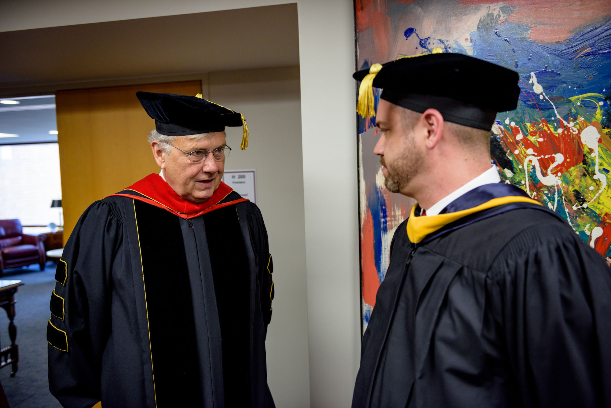 RHIT_Commencement_Platform_Party_Robing-21608.jpg
